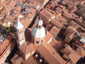 Vista su Bologna